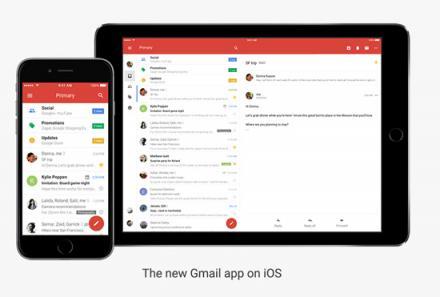 La nuova Gmail per iOS, una app completamente rinnovata