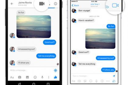 La nuova estensione di Facebook messenger: la videochiamata