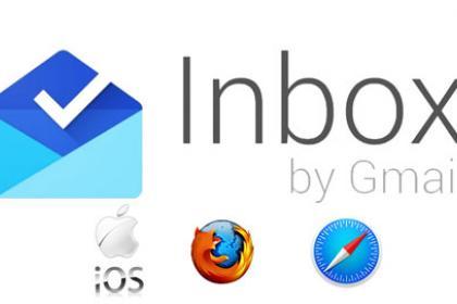 Google Inbox su tablet, Safari e Firefox