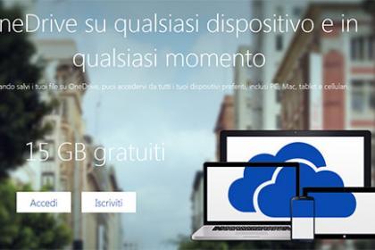 Microsoft One Drive conferma la disponibilità di 10 GB per l'upload