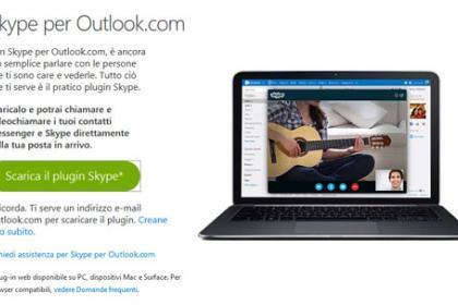 Skype per Outlook.com